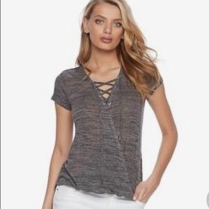 Women's Juicy Couture Faux Wrap Tee